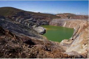 Mine von Newmont in Cajamarca